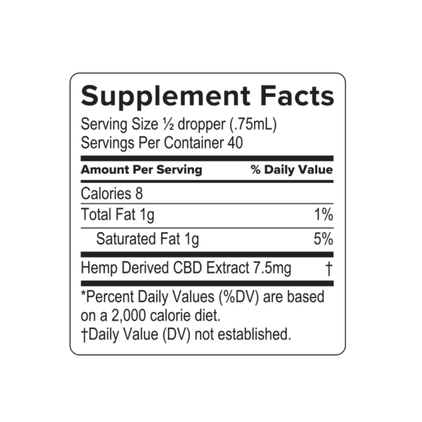 hemp supplements