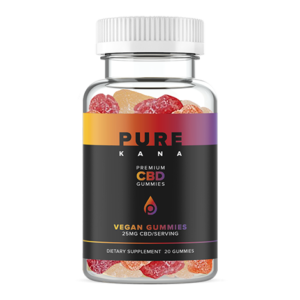 Purekana CBD Vegan Gummies 25mg
