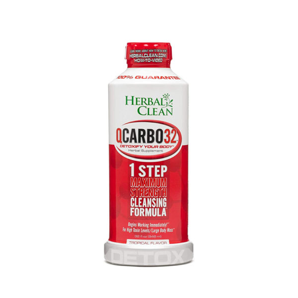 herbal clean qcarbo32